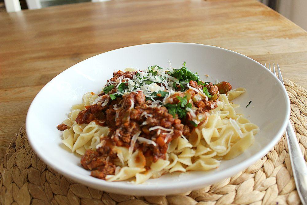 Spaghetti Bolognese a la Canan